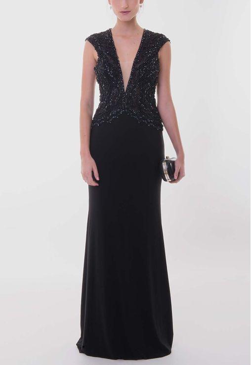 vestido-serena-longo-bordado-no-busto-powerlook-preto
