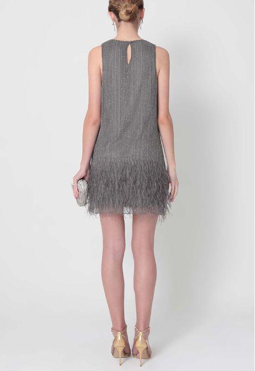 vestido-jessie-curto-bordado-com-plumas-powerlook-cinza