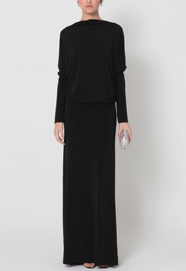 vestido-blink-longo-com-decote-profundo-powerlook-preto