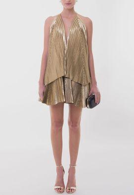 vestido-isabelli-curto-plissado-meskita-dourado