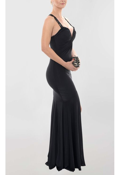 vestido-dena-lorena-longo-de-malha-com-fenda-powerlook-preto