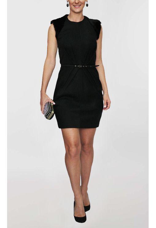 vestido-olsen-curto-com-ombreira-de-pelo-reinaldo-lourenco-preto