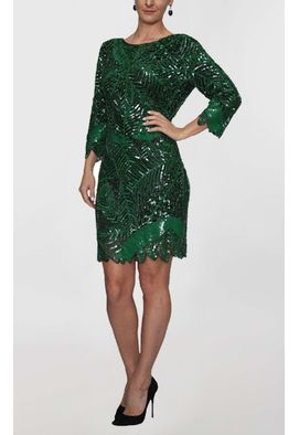 vestido-ali-curto-de-manga-comprida-bordado-powerlook-verde