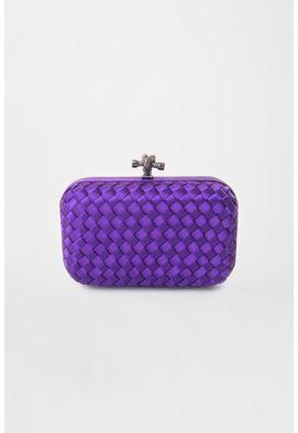 clutch-purple-de-tresse-e-cetim-powerlook-roxa