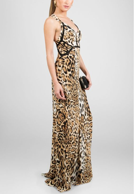 vestido-liza-longo-de-seda-animal-print-le-lis-blanc-estampado