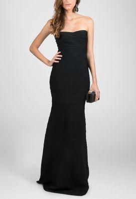 vestido-budapeste-longo-tomara-que-caia-bandagem-powerlook-preto