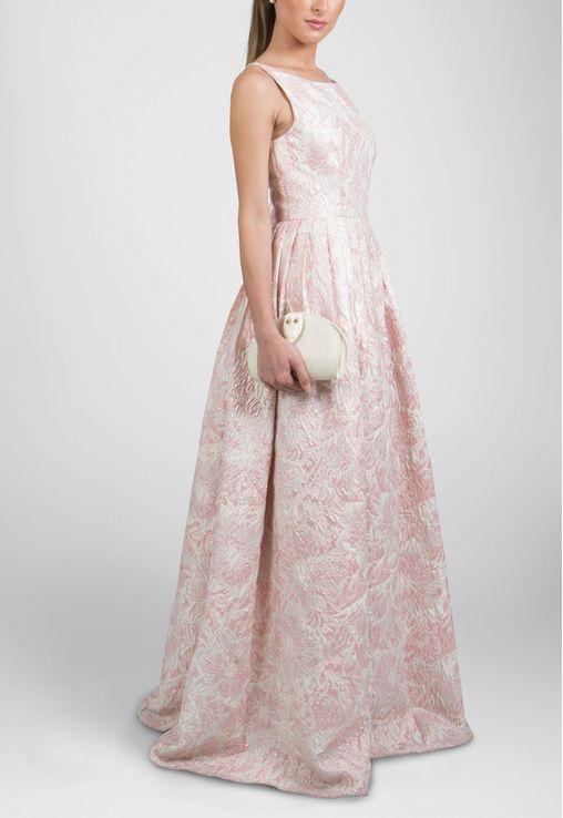 vestido-princess-longo-com-tecido-brocado-estruturado-adrianna-papell-rosa
