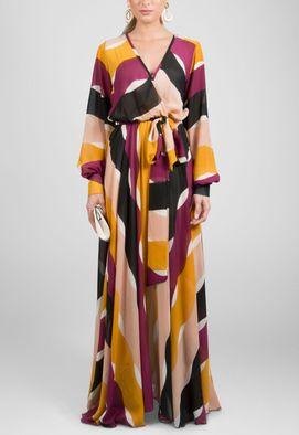 vestido-bolivia-longo-de-manga-comprida-fluido-powerlook-estampado