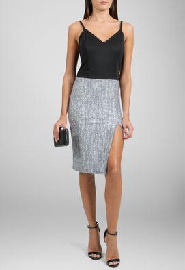 vestido-simone-curto-de-alcas-e-fenda-powerlook-preto-e-prata