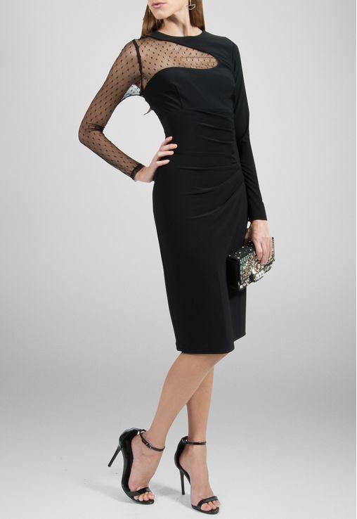 vestido-georgia-midi-com-manga-de-tule-powerlook-preto
