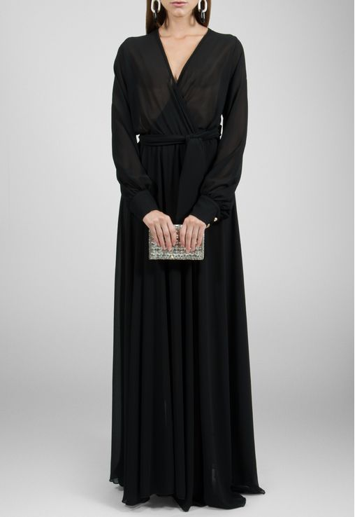 vestido-polly-longo-de-manga-comprida-fluido-powerlook-preto