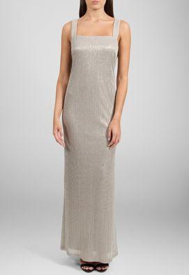 vestido-liz-longo-com-casaqueto-plissado-powerlook-prata