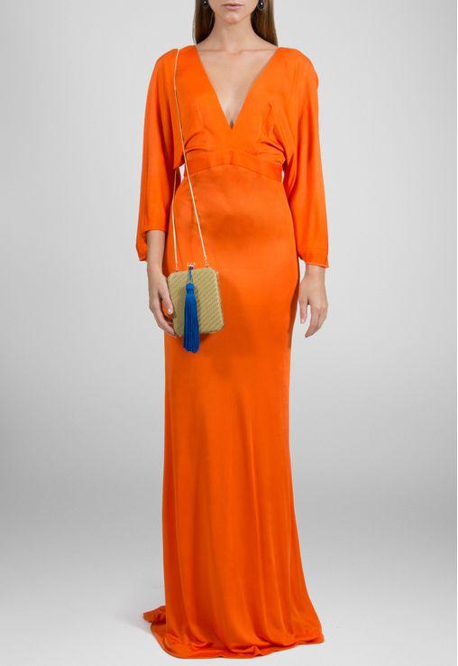 vestido-hibisco-longo-de-malha-com-manga-ampla-animale-laranja