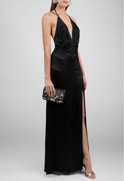 vestido-deise-longo-de-seda-com-fenda-topshop-preto
