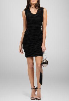 vestido-samia-curto-bandagem-de-veludo-powerlook-preto