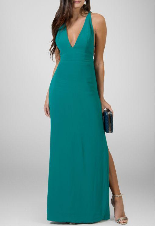 vestido-japao-longo-com-duas-fendas-laterais-animale-verde
