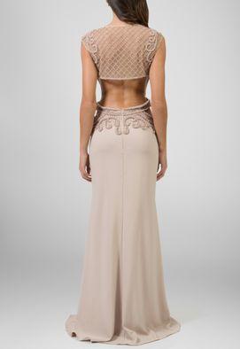 vestido-talia-longo-com-transparencia-e-bordado-powerlook-nude