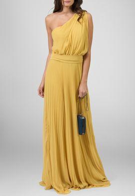 vestido-safari-um-ombro-so-plissado-powerlook-mostarda