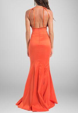 vestido-leblon-longo-de-tafeta-sereia-iorane-laranja