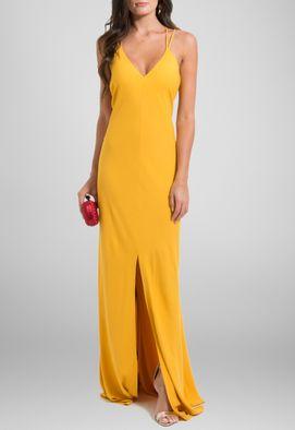 vestido-iuna-longo-de-alcinhas-cruzadas-com-fenda-frontal-powerlook-mostarda