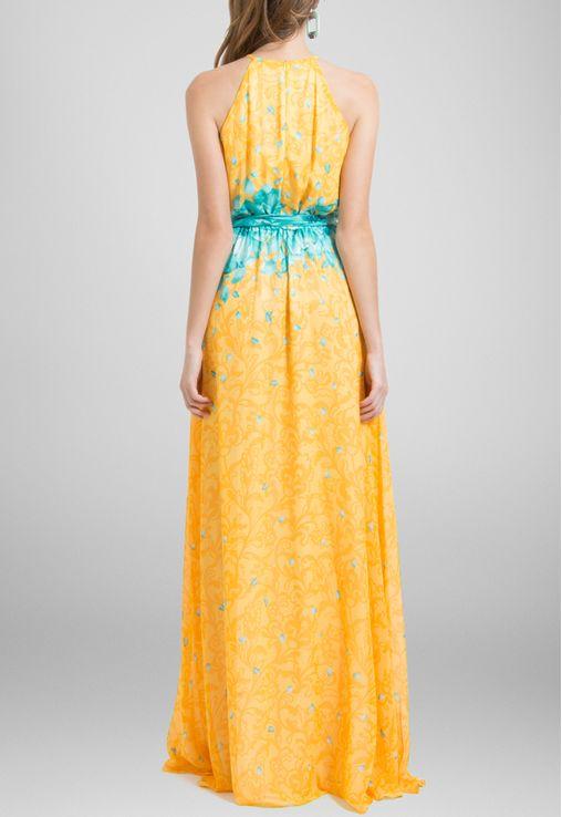 vestido-dinora-longo-decote-trapezio-floral-powerlook-estampado
