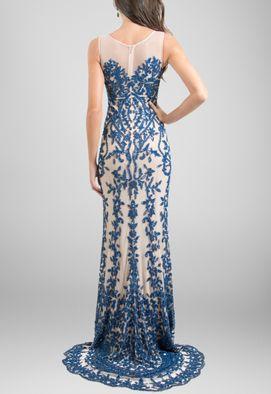 vestido-napole-longo-todo-bordado-no-tule-nude-com-cauda-powerlook-azul-marinho