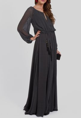 vestido-manson-longo-de-poa-pequeno-e-manga-comprida-ateen-preto