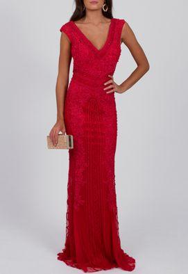 vestido-babilonia-longo-todo-bordado-com-renda-e-micangas-no-tule-powerlook-vermelho-terra