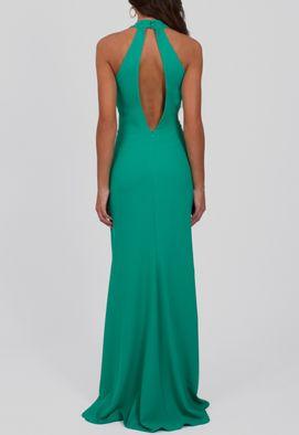 vestido-stefani-longo-com-fenda-frontal-e-nas-costas-Powerlook-verde