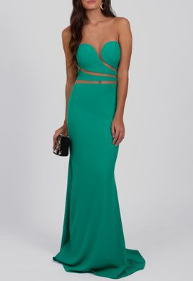 vestido-brielle-longo-com-transparencia-powerlook-verde