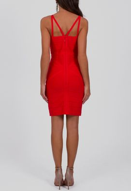vestido-gracie-curto-bandagem-strappy-powerlook-vermelho