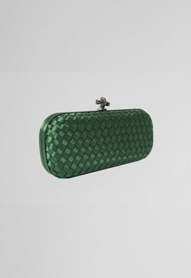 clutch-green-baguete-tresse-de-cetim-powerlook-verde