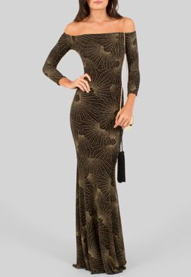 vestido-simara-longo-de-malha-com-lurex-dourado-powerlook-preto-e-dourado