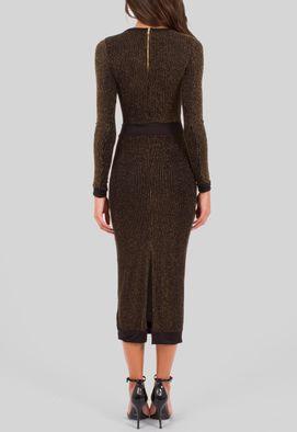 vestido-finn-midi-de-manga-comprida-em-lurex-com-relevo-powerlook-preto-e-dourado