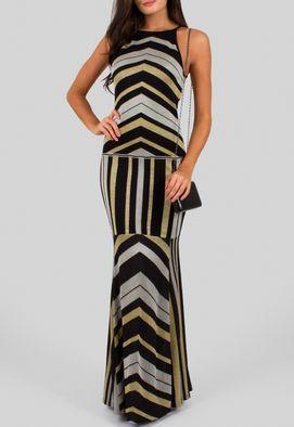 vestido-cristiane-longo-de-trico-com-decote-trapezio-estampado
