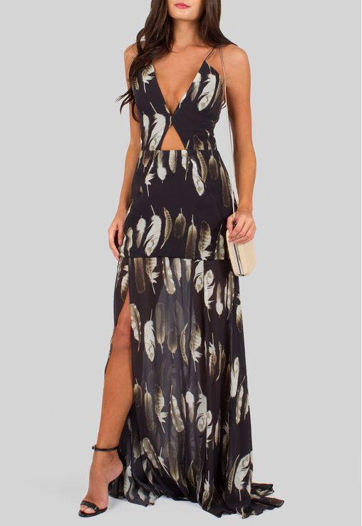 vestido-penas-longo-com-fendas-frontais-animale-estampado