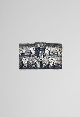 clutch-indian-retangular-marinho-e-dourada-powerlook