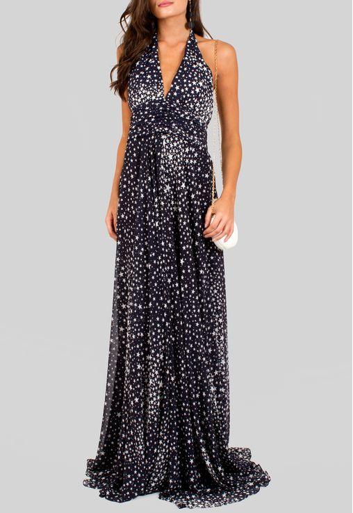vestido-manila-longo-frente-unica-estrelas-amissima-azul-marinho