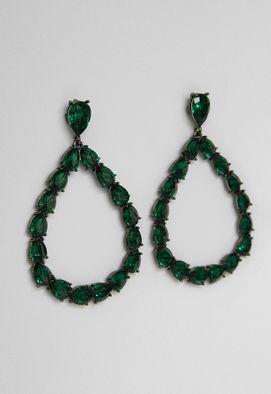 brinco-gota-pedras-powerlook-verde