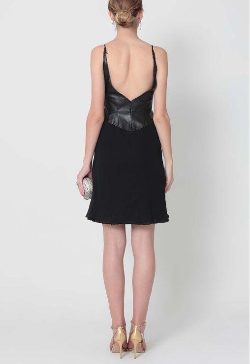 vestido-isadora-curto-com-couro-no-busto-luca-luca-preto