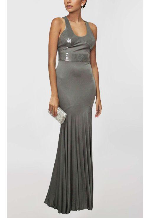 vestido-diane-longo-sereia-versace-cinza