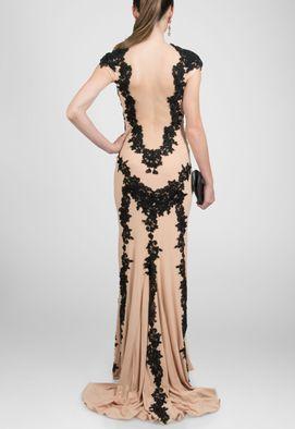 vestido-marla-longo-nude-de-renda-preta-powerloo-nude