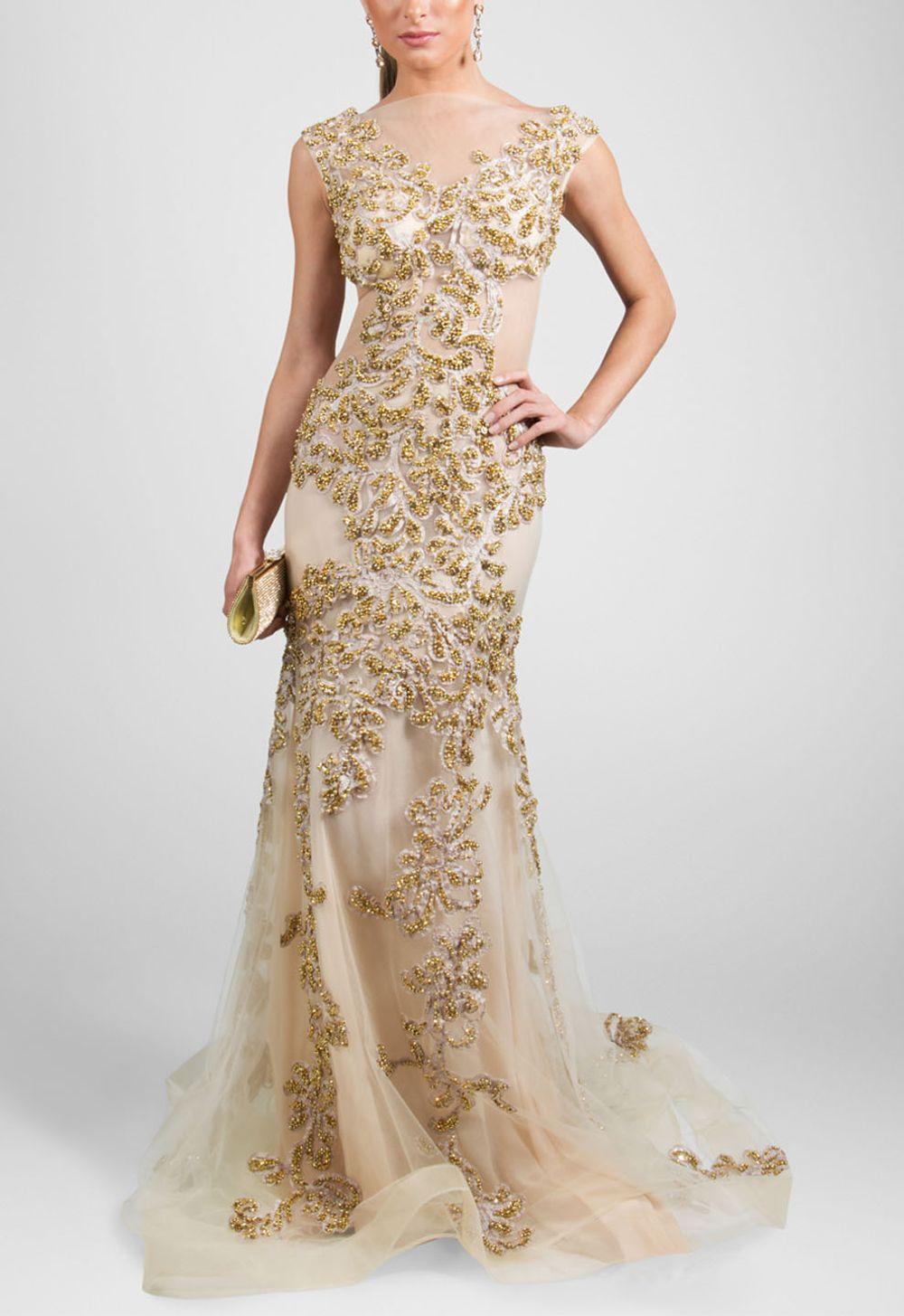 a835270c4 vestido-dream-longo-bordado-no-tule-com-cauda ...