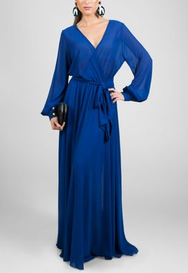 vestido-nadine-longo-de-manga-comprida-fluido-powerlook-azul-bic