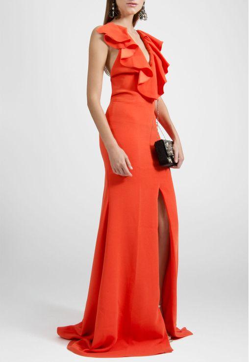 vestido-berta-longo-frente-unica-com-babados-e-fenda-marcelo-quadros-laranja