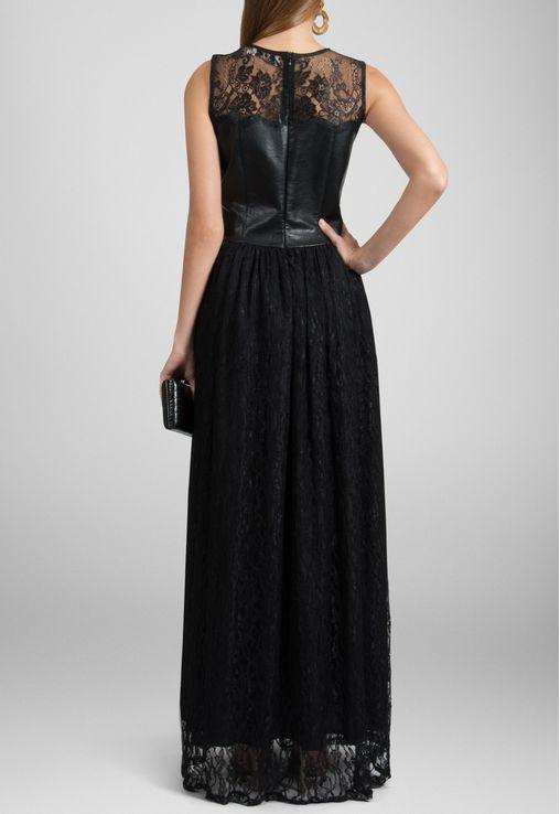 vestido-yolanda-longo-de-renda-e-couro-powerlook-preto