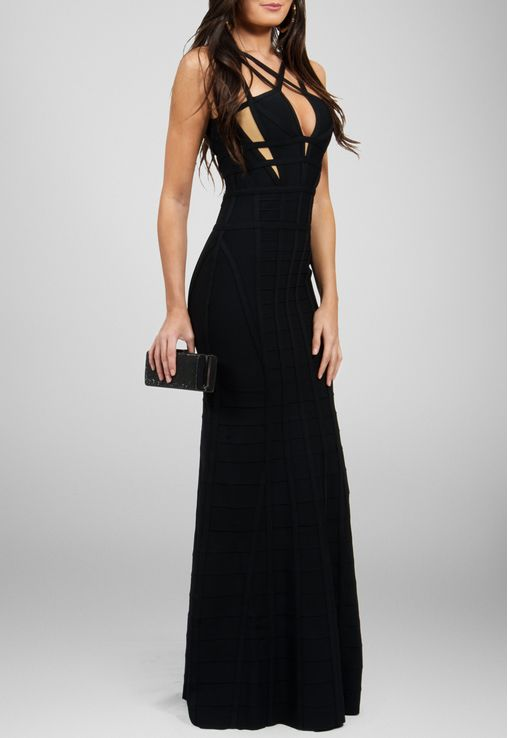 vestido-iris-longo-bandagem-com-alcas-cruzadas-powerlook-preto