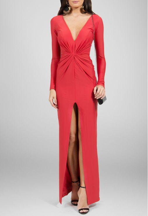 vestido-maia-longo-de-manga-comprida-e-fenda-frontal-maddie-vermelho