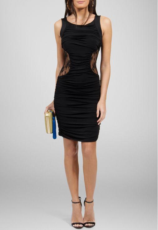 vestido-marcele-curto-preto-drapeado-com-transparencia-powerlook-preto