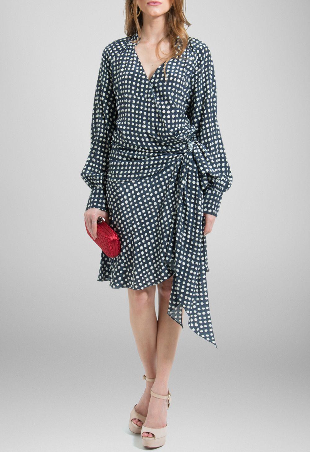 34c760eb8 vestido-olenka-curto-transpassado-de-poa-mixed-estampado ...